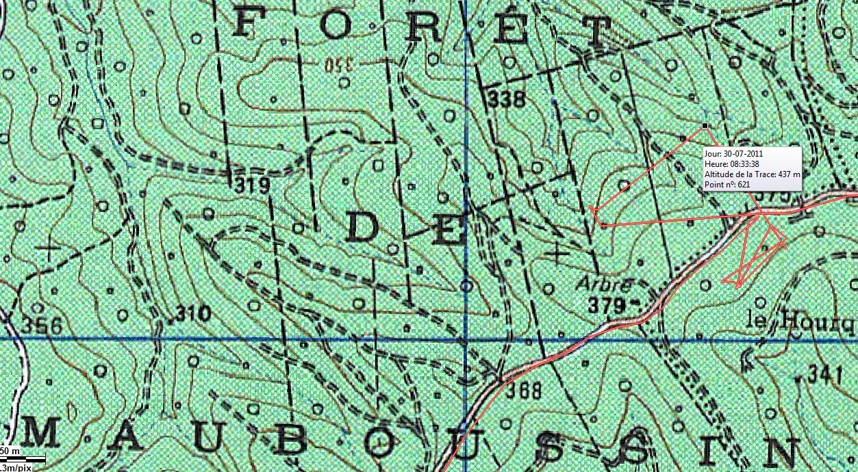 Forêt de MAUBOUSSIN