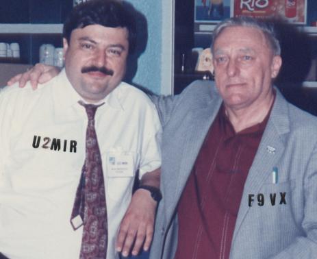 MUSA MANAROF U2MIR et Michel F9VX